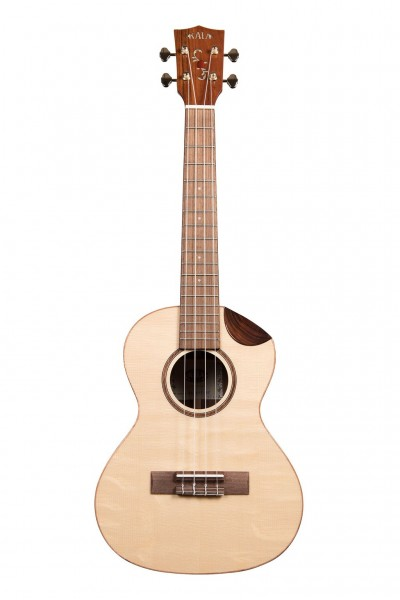 Kala Solid Spruce Scallop Tenor