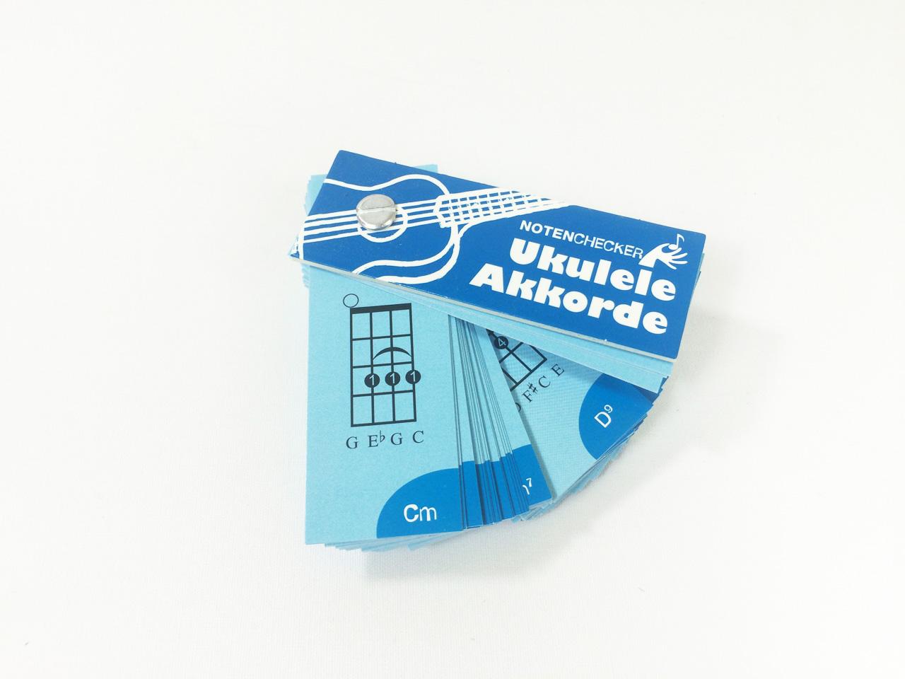 Ukulele Akkordfächer | Ukulädle - we love ukulele