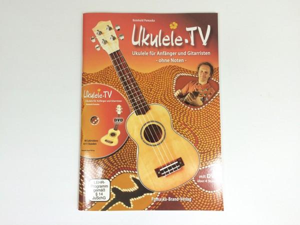 Ukulele für Anfänger und Gitarristen - ohne Noten, m. DVD