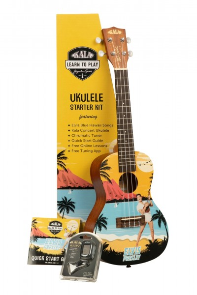 Kala Learn to play Elvis - Blue Hawaii Konzert
