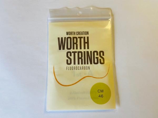 Worth Fluor-Carbon Strings Medium Klar