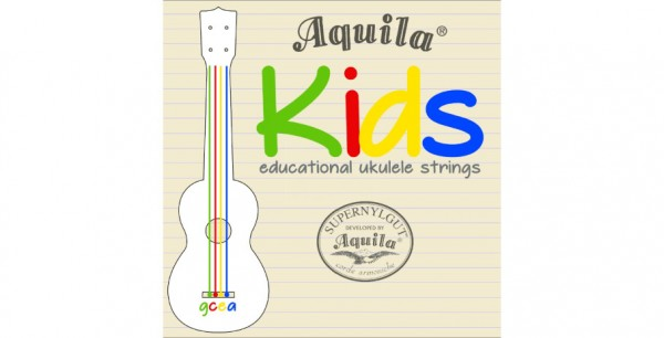 Aquila Kids Multi Color Ukulele Strings