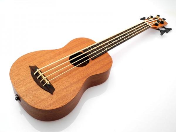 koki'o Ukulele-Bass Mahagoni Fretted