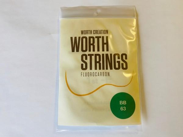 Worth Fluor-Carbon Bariton Strings Braun