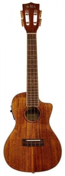 Hawaiian Koa Gloss Concert Electric mit Cutaway