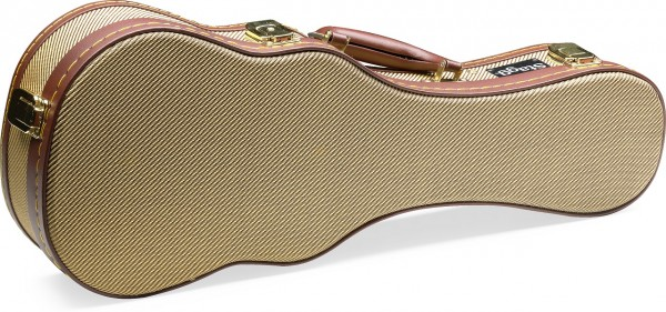 Stagg Gold Tweed Hardcase