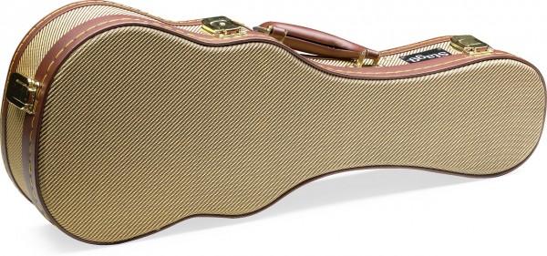 Stagg Gold Tweed Hardcase