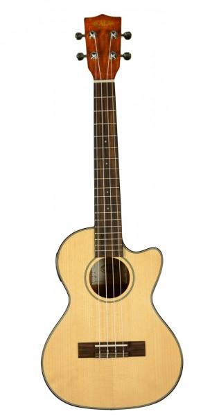 Kala Fichte-Mahagoni Tenor mit Cutaway und Tonabnehmer