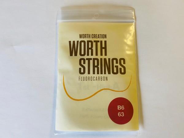 Worth Fluor-Carbon 6-String Set Braun